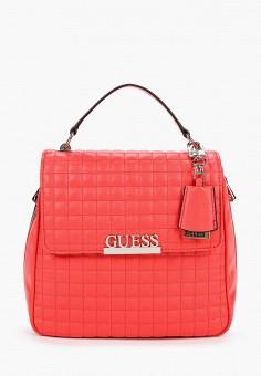 Рюкзак, Guess, цвет: коралловый. Артикул: GU460BWJLEM9. Аксессуары / Рюкзаки