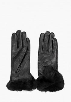 Перчатки, Guess, цвет: черный. Артикул: GU460DWGHAZ2. Аксессуары / Перчатки и варежки