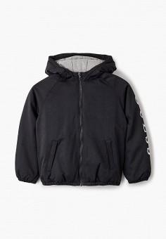 Куртка утепленная, Guess, цвет: черный. Артикул: GU460EBJLDT2. Мальчикам / Одежда / Верхняя одежда