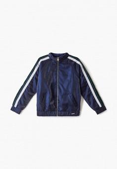Куртка утепленная, Guess, цвет: синий. Артикул: GU460EGFNKX6.