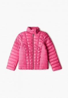 Куртка утепленная, Guess, цвет: розовый. Артикул: GU460EGHJGC1.