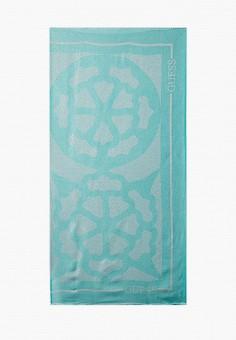 Платок, Guess, цвет: зеленый. Артикул: GU460GWJQBZ6. Аксессуары / Платки и шарфы