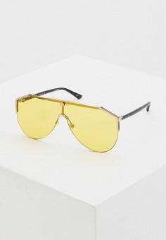 Очки солнцезащитные, Gucci, цвет: желтый. Артикул: GU641DUHQPJ5. Premium