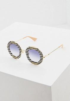 Очки солнцезащитные, Gucci, цвет: мультиколор. Артикул: GU641DWHQPG6. Premium
