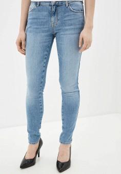 Джинсы, Guess Jeans, цвет: голубой. Артикул: GU644EWHMHX5. Одежда