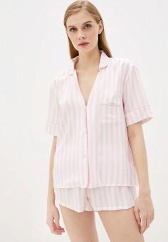 Пижама, Guess Jeans, цвет: розовый. Артикул: GU644EWHMIY7. Одежда / Домашняя одежда / Пижамы