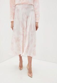 Юбка, Guess Jeans, цвет: розовый. Артикул: GU644EWJEEW3. Одежда / Юбки
