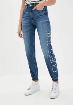 Джинсы, Guess Jeans, цвет: синий. Артикул: GU644EWJLCX9. Одежда / Джинсы / Узкие джинсы