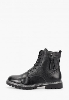 Ботинки, Happy Family, цвет: черный. Артикул: HA016AWFXVD9. Обувь / Ботинки / Высокие ботинки