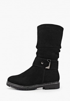 Полусапоги, Happy Family, цвет: черный. Артикул: HA016AWFXVE0. Обувь / Сапоги / Полусапоги
