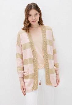 Кардиган, Haily's, цвет: розовый. Артикул: HA022EWJAJV7. Одежда / Джемперы, свитеры и кардиганы / Кардиганы