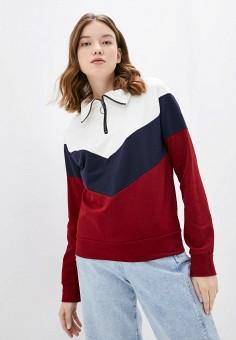Олимпийка, Haily's, цвет: бордовый. Артикул: HA022EWJALC8. Одежда / Толстовки и свитшоты