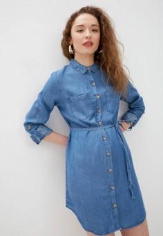 Платье, Haily's, цвет: синий. Артикул: HA022EWJALG0. Одежда / Платья и сарафаны