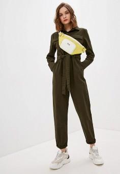 Комбинезон, Haily's, цвет: хаки. Артикул: HA022EWJCSG1. Одежда / Комбинезоны