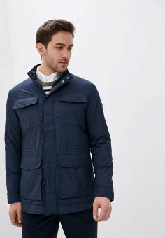 Куртка утепленная, Hackett London, цвет: синий. Артикул: HA024EMHMHT5. Одежда / Верхняя одежда / Демисезонные куртки
