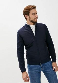 Куртка утепленная, Hackett London, цвет: синий. Артикул: HA024EMKHUI7. Одежда / Верхняя одежда / Демисезонные куртки