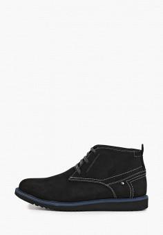 Ботинки, HCS, цвет: черный. Артикул: HC077AMGNTF4. Обувь / Ботинки / Низкие ботинки