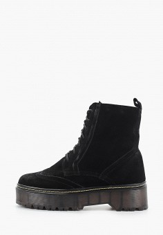 Ботинки, HCS, цвет: черный. Артикул: HC077AWGYRI5. Обувь / Ботинки / Высокие ботинки