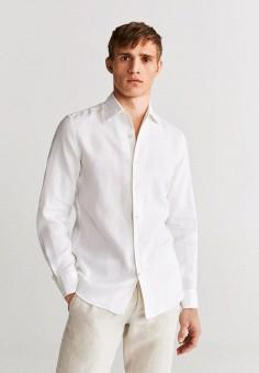 Рубашка, Mango Man, цвет: белый. Артикул: HE002EMIUWA5.