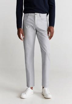 Брюки, Mango Man, цвет: серый. Артикул: HE002EMIUWK1. Одежда / Брюки / Повседневные брюки