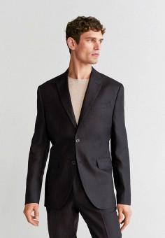 Пиджак, Mango Man, цвет: черный. Артикул: HE002EMIWPU2.