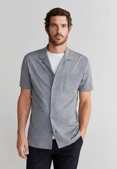 Рубашка домашняя, Mango Man, цвет: серый. Артикул: HE002EMJGRV0.