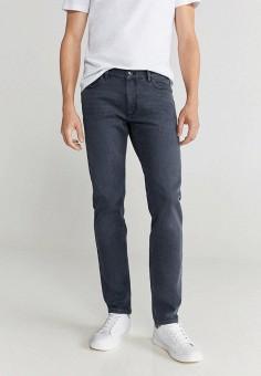Джинсы, Mango Man, цвет: серый. Артикул: HE002EMJUNQ3. Одежда / Джинсы / Прямые джинсы
