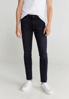 Джинсы, Mango Man, цвет: серый. Артикул: HE002EMJUNQ7. Одежда / Джинсы / Зауженные джинсы
