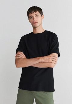 Футболка, Mango Man, цвет: черный. Артикул: HE002EMKCII3. Одежда / Футболки и поло