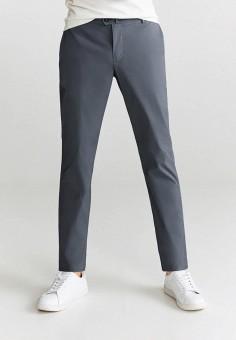 Брюки, Mango Man, цвет: серый. Артикул: HE002EMKEXN6. Одежда / Брюки / Повседневные брюки