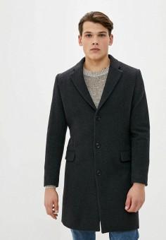 Пальто, Mango Man, цвет: серый. Артикул: HE002EMKKEA0. Одежда / Верхняя одежда / Пальто