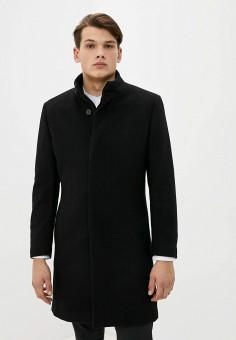 Пальто, Mango Man, цвет: черный. Артикул: HE002EMKKEC8. Одежда / Верхняя одежда / Пальто