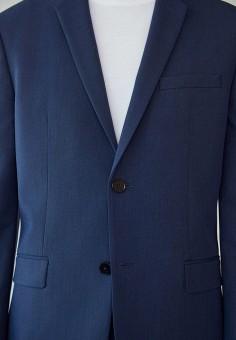 Пиджак, Mango Man, цвет: синий. Артикул: HE002EMKMAJ5. Одежда