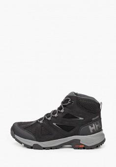 Ботинки трекинговые, Helly Hansen, цвет: черный. Артикул: HE012AMKGQW3. Обувь / Ботинки