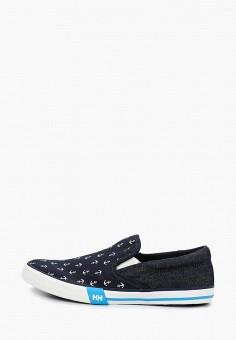 Слипоны, Helly Hansen, цвет: синий. Артикул: HE012AWELQR9. Обувь / Слипоны