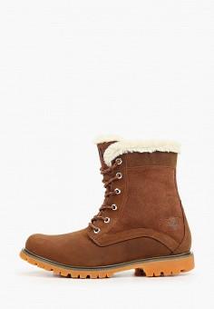Ботинки, Helly Hansen, цвет: коричневый. Артикул: HE012AWFQBI5. Обувь / Ботинки / Высокие ботинки