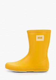 Резиновые сапоги, Helly Hansen, цвет: желтый. Артикул: HE012AWJHPO5. Обувь / Резиновая обувь