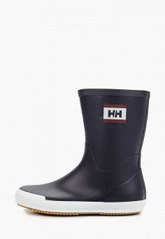 Резиновые сапоги, Helly Hansen, цвет: синий. Артикул: HE012AWJHPO6. Обувь / Резиновая обувь