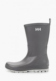 Резиновые сапоги, Helly Hansen, цвет: серый. Артикул: HE012AWJHPO8. Обувь / Резиновая обувь