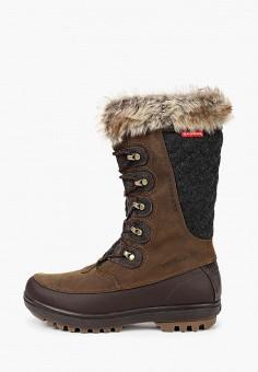 Сапоги, Helly Hansen, цвет: коричневый. Артикул: HE012AWKGQY9. Обувь / Сапоги / Сапоги