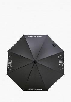 Зонт-трость, Helly Hansen, цвет: черный. Артикул: HE012DUIMDY1.