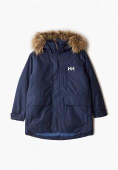 Парка, Helly Hansen, цвет: синий. Артикул: HE012EBFQWN7. Мальчикам / Одежда / Верхняя одежда