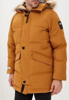 Парка, Helly Hansen, цвет: желтый. Артикул: HE012EMCJRL5. Одежда / Верхняя одежда / Парки