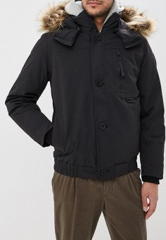 Пуховик, Helly Hansen, цвет: черный. Артикул: HE012EMDKIY2. Одежда / Верхняя одежда / Пуховики и зимние куртки / Пуховики
