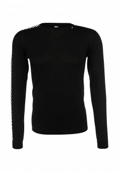 Термобелье верх, Helly Hansen, цвет: черный. Артикул: HE012EMFOJ67. Одежда / Термобелье