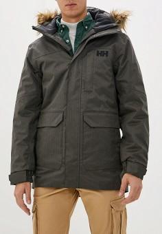 Куртка утепленная, Helly Hansen, цвет: хаки. Артикул: HE012EMFQWV9. Одежда / Верхняя одежда / Демисезонные куртки