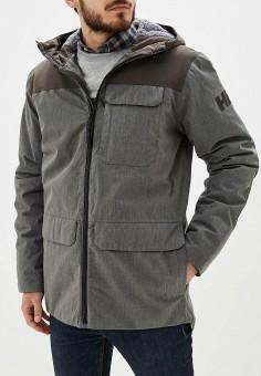 Куртка утепленная, Helly Hansen, цвет: хаки. Артикул: HE012EMFQZO1. Одежда / Верхняя одежда / Пуховики и зимние куртки / Зимние куртки