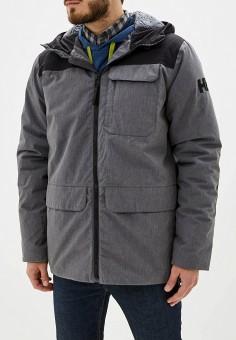 Куртка утепленная, Helly Hansen, цвет: серый. Артикул: HE012EMFQZO2. Одежда / Верхняя одежда / Пуховики и зимние куртки