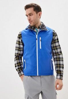 Жилет спортивный, Helly Hansen, цвет: синий. Артикул: HE012EMIMFI6. Одежда / Верхняя одежда / Жилеты