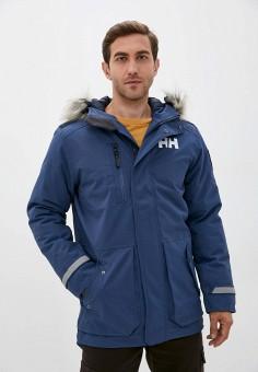 Парка, Helly Hansen, цвет: синий. Артикул: HE012EMKGOR6. Одежда / Верхняя одежда / Парки